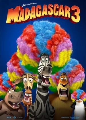 Мадагаскар 3  в 3D
